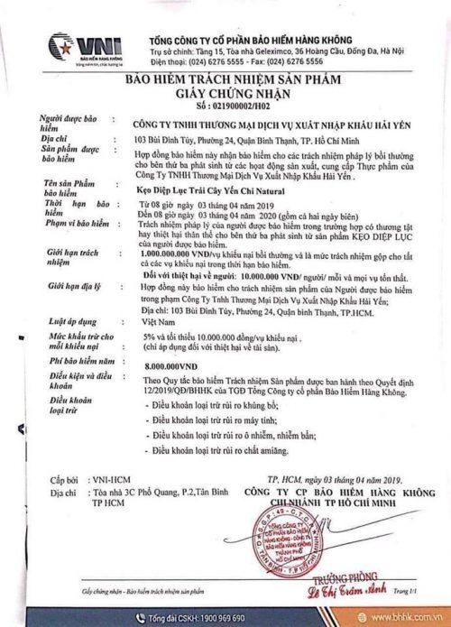 Keo Diep Luc Trai Cay Cao Cap 1 1 1