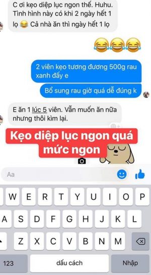 Keo Diep Luc Trai Cay Cao Cap 4
